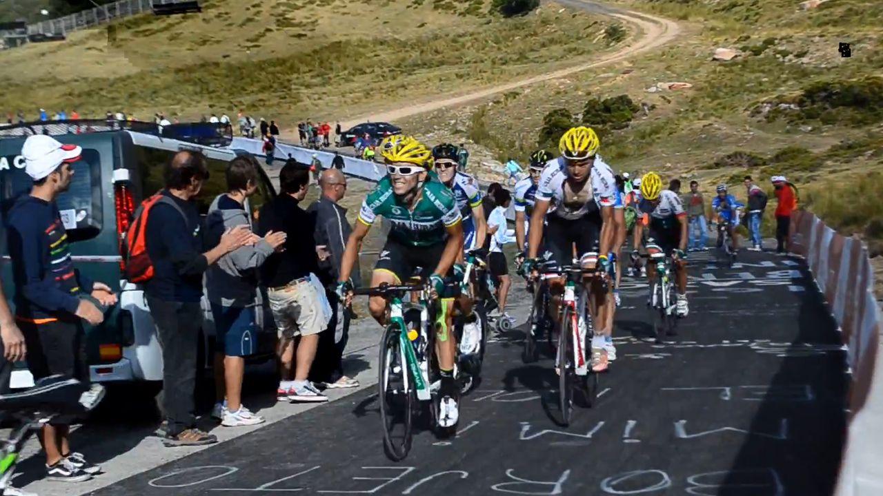 Agenda asturias Hevia tapas teatro Vuelta ciclista Covadonga.Imagen de archivo de la Vuelta Ciclista a su paso por el Puerto de Pajares