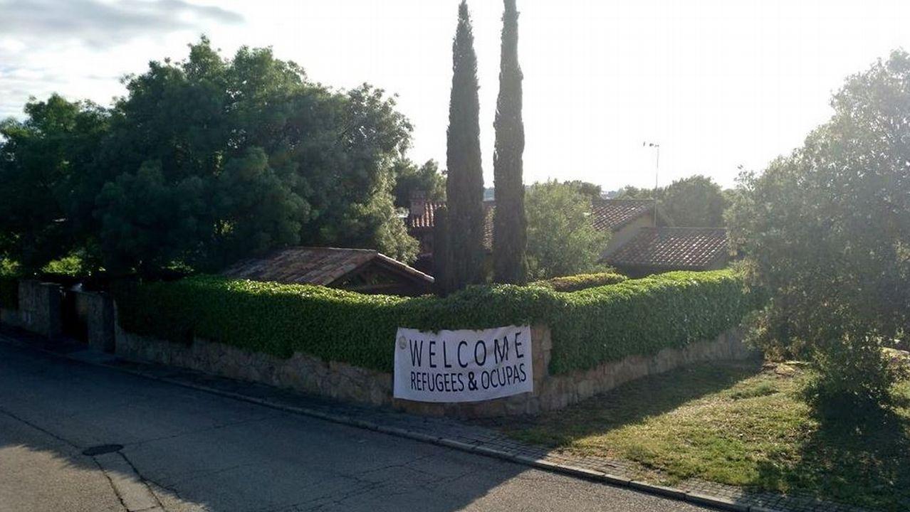 El último adiós a Rubalcaba, en imágenes.Imagen de la polémcia casa de Pablo Iglesias e Irene Montero en una urbanización de Galapagar, en Madrid