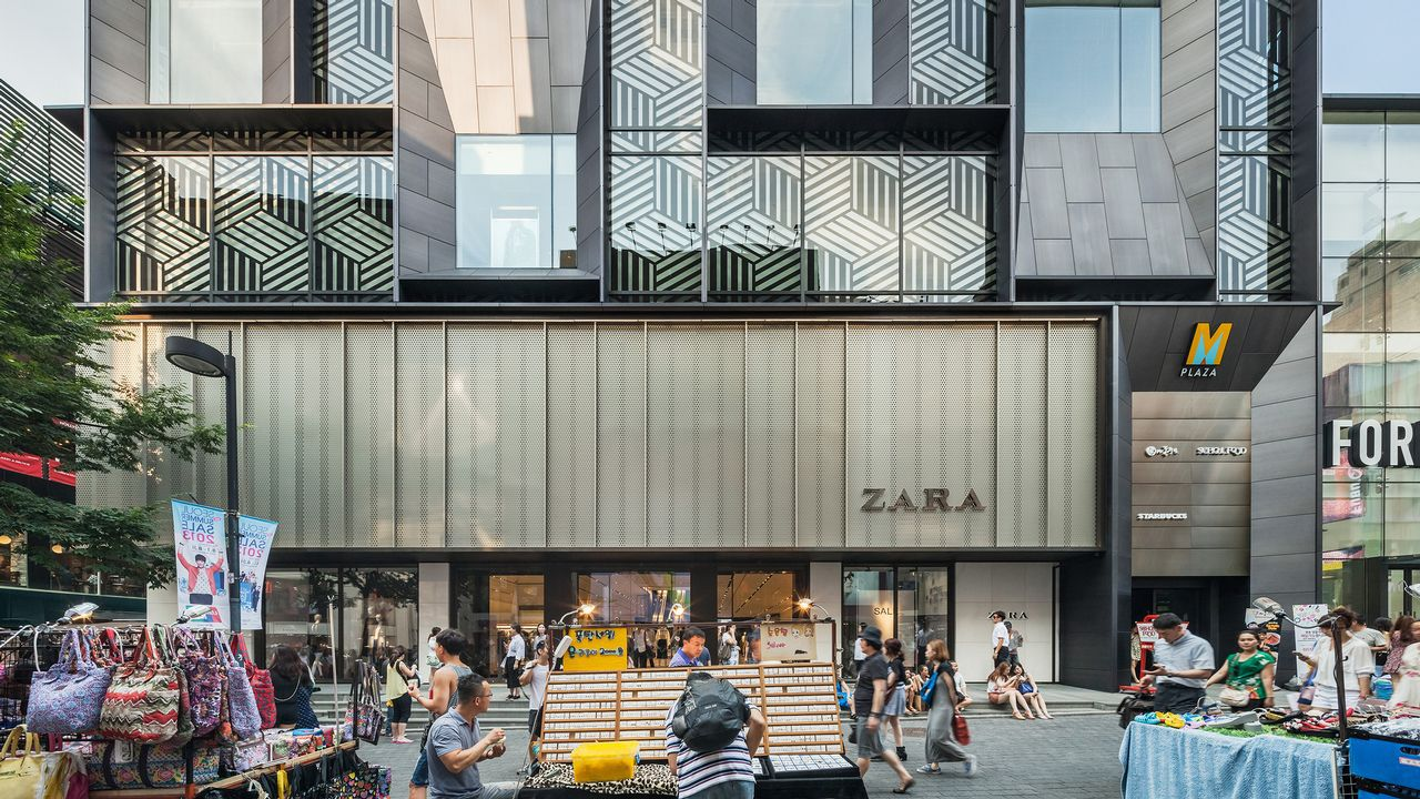 Edificio M Plaza, Seúl (Corea). 328 millones. Primera compra de Pontegadea en Asia.