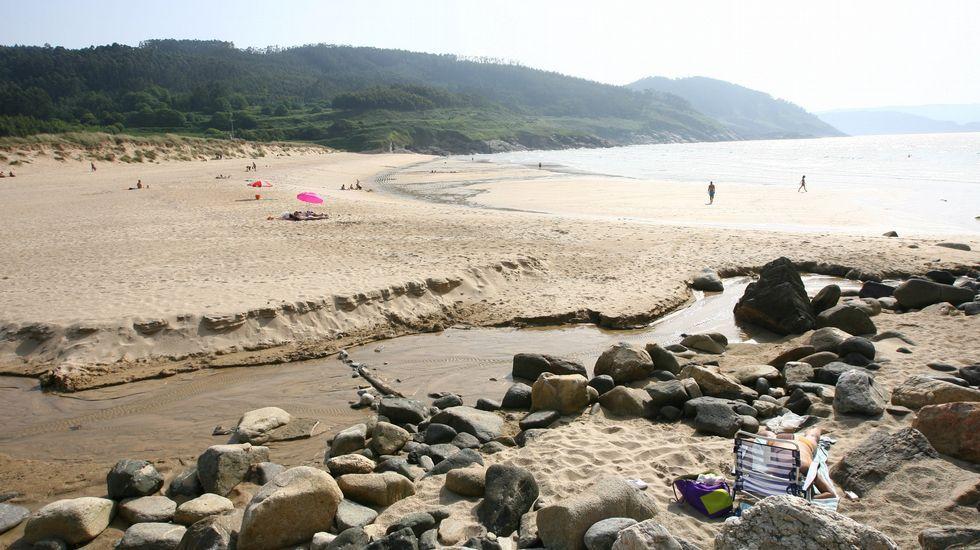 Xove. Playa de Esteiro