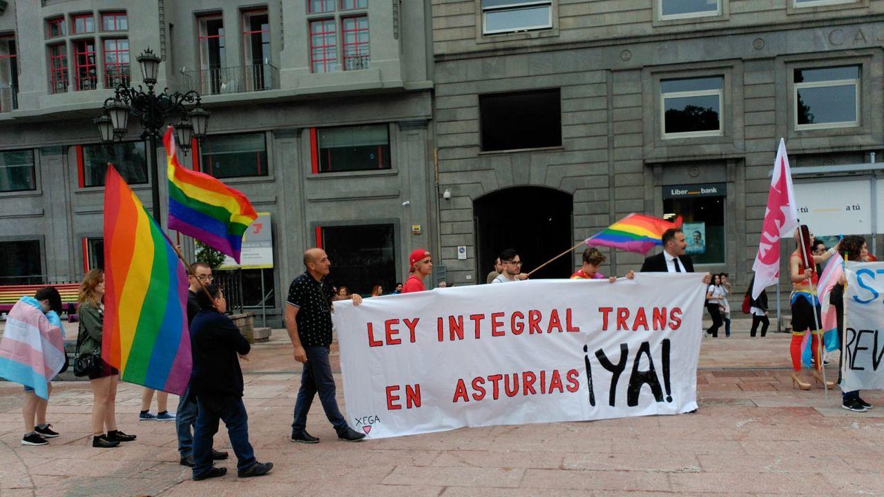 Embriones 5.0: en este laboratorio gallego se incuban los bebés del futuro.Manifestación por el orgullo LGTBI en Oviedo