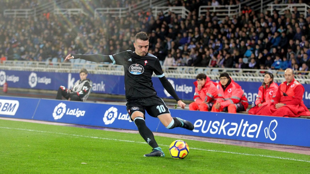 264 - Real Sociedad-Cetla (1-2) de Liga el 21 de enero del 2018