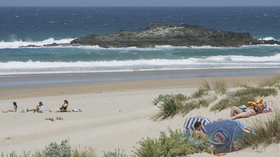 Valdoviño. Playa de A Frouxeira
