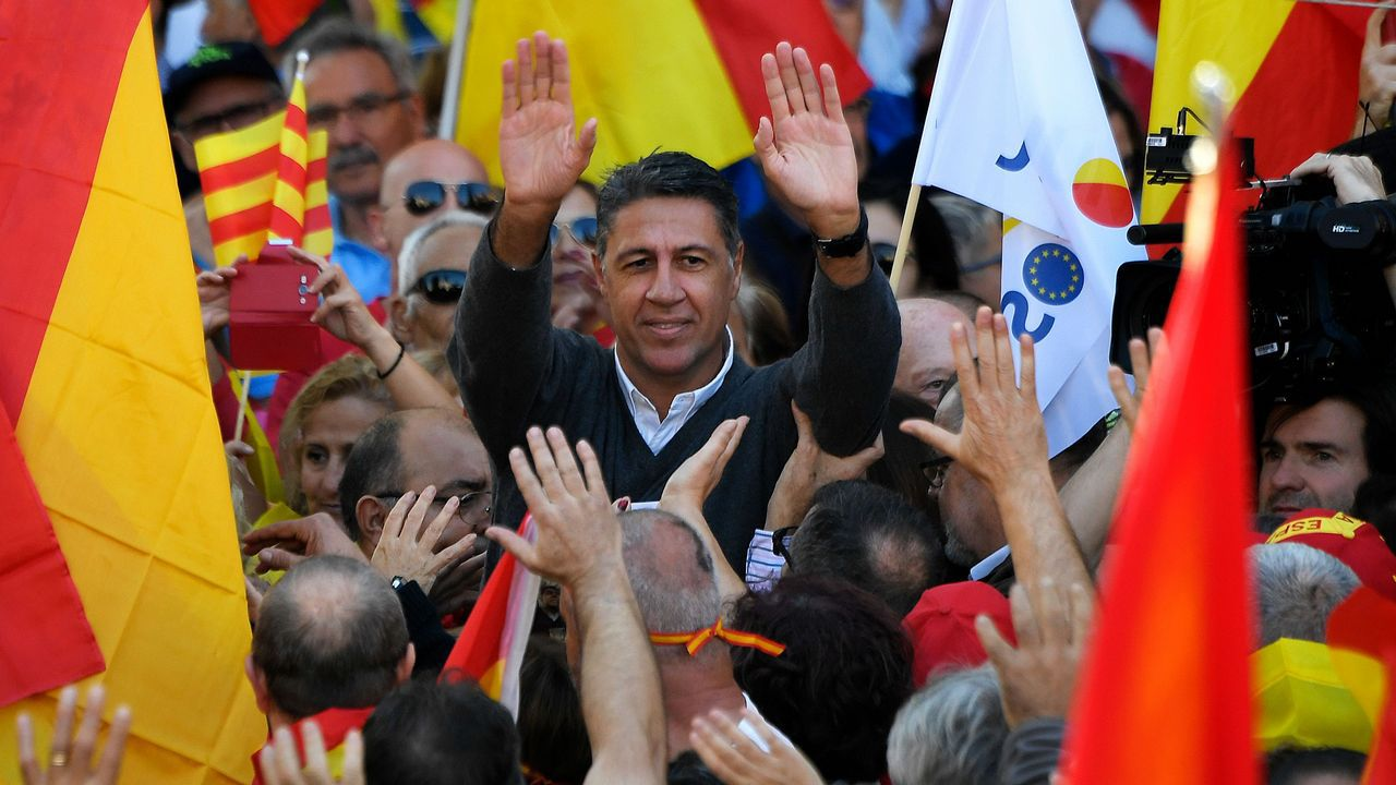 .Xavier García Albiol, candidato del Partido Popular en Cataluña