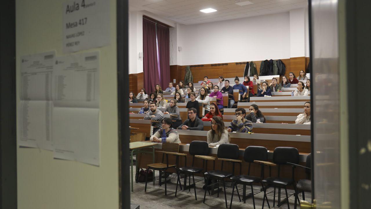 Examen del mir el pasado sábado en Santiago