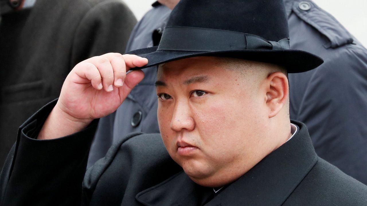 El líder norcoreano Kim Jong Un, en Vladivostok (Rusia) en una imagen de abril de 2019