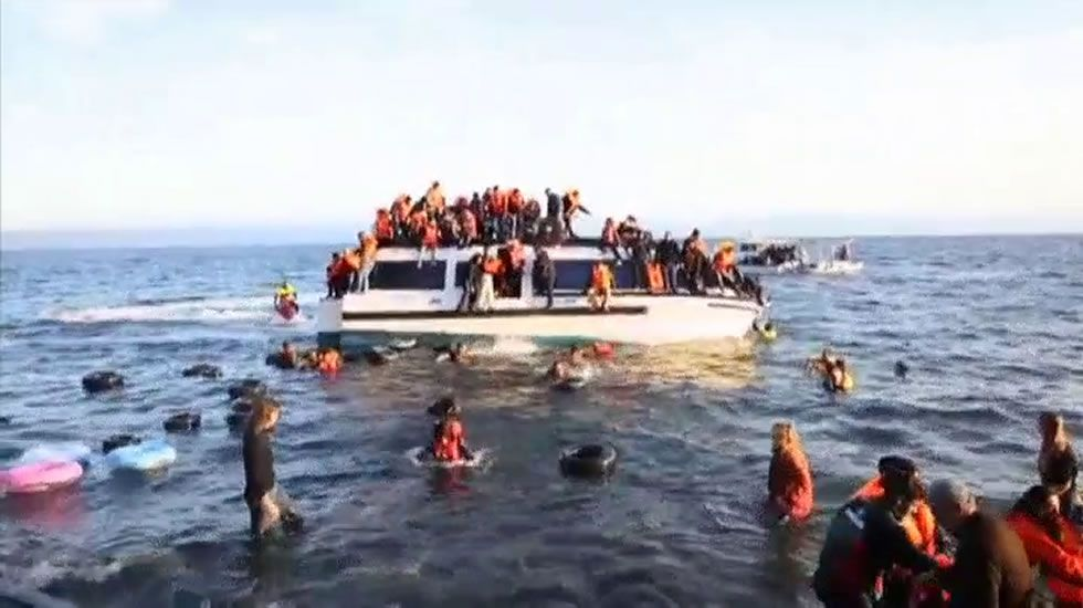 Nueva jornada negra en aguas del Egeo