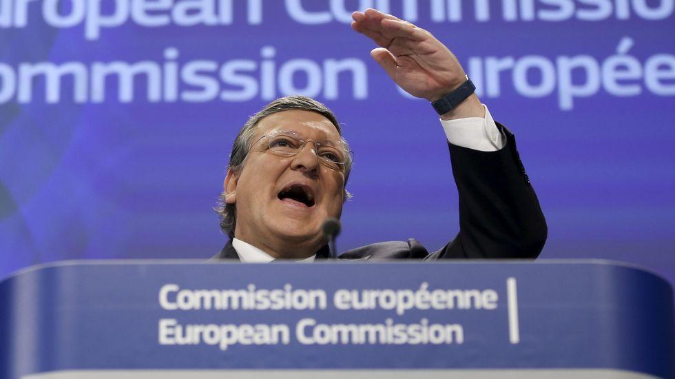 .El ex presidente de la Comisión Europea, Jose Manuel Durao Barroso.