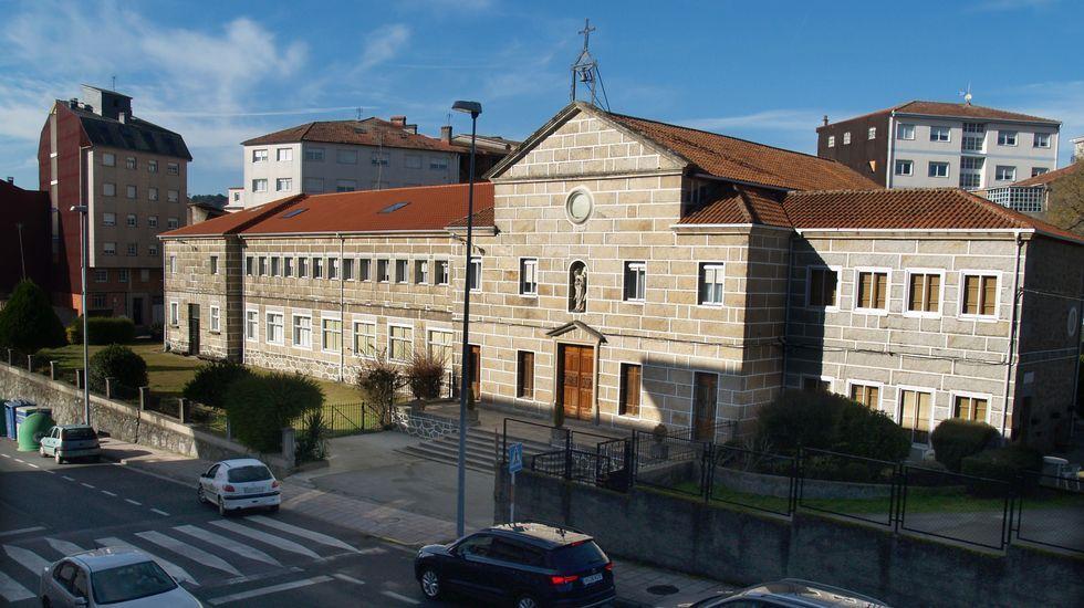 Un recorrido visual por el entorno del embalse de Vilasouto.La nieve llegó también al sur de Lugo. Este es el alto de O Faro en Chantada