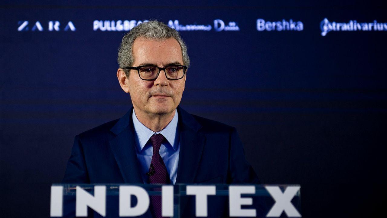 Pablo Isla, presidente de Inditex, en una imagen de archivo
