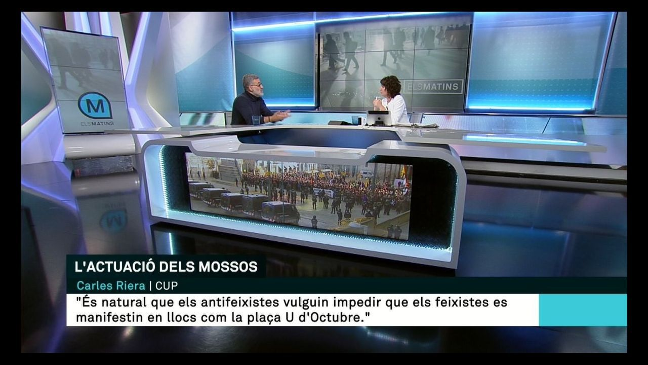 En directo y en streaming, el juicio del procés.Progración informativa de TV3