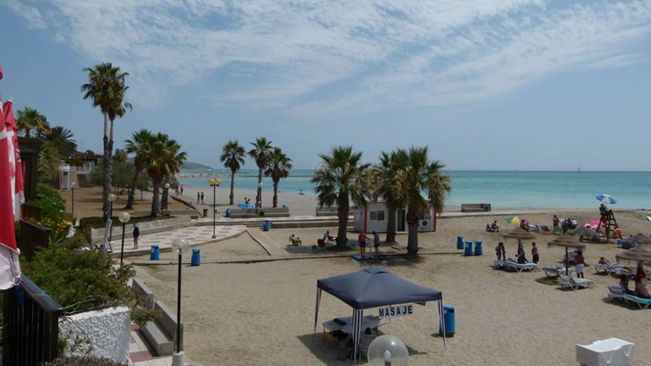 .Foto de la playa de Benicasim