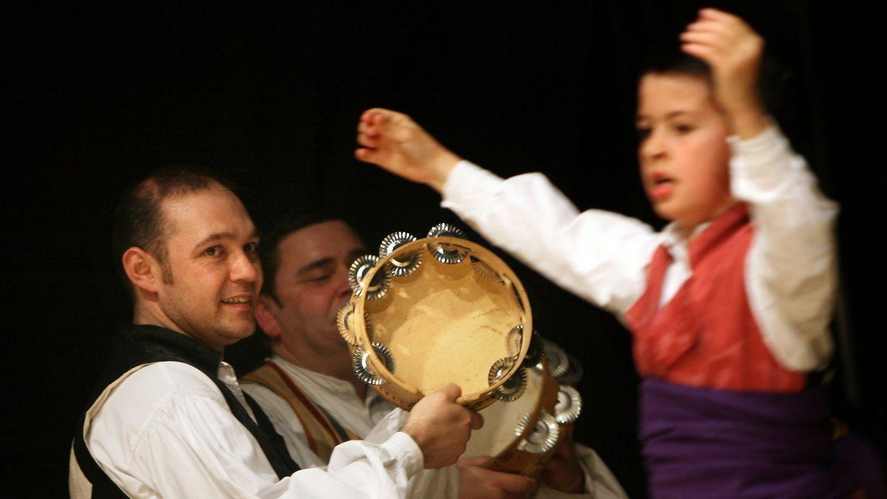 La comida navideña de Ribeira Sacra en imágenes.San Antolín de Bedón