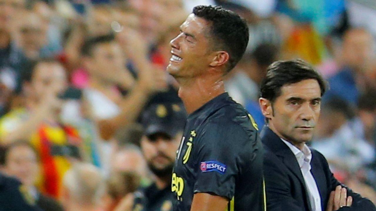 Pelea entre los jugadores de Valencia y Getafe al final del partido