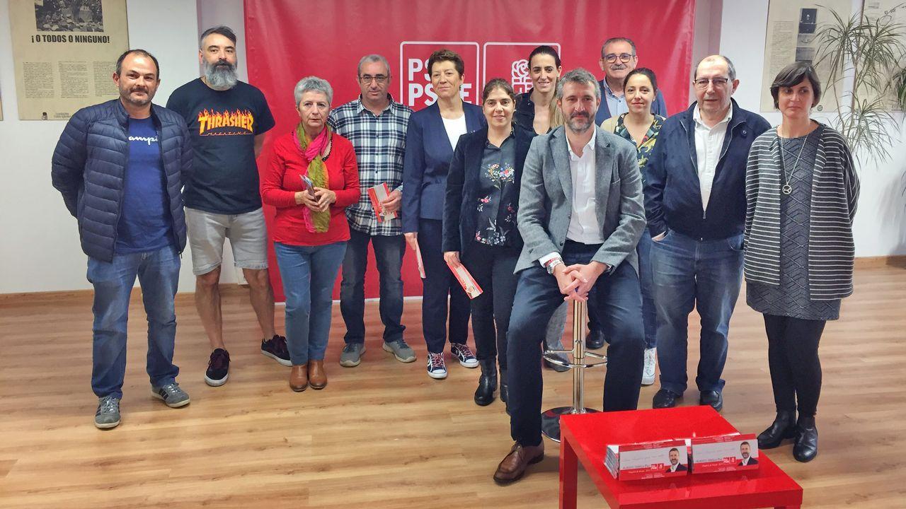 CANDIDATURA CERRADA (Santiago). Xosé Sánchez Bugallo: Exalcalde y candidato único