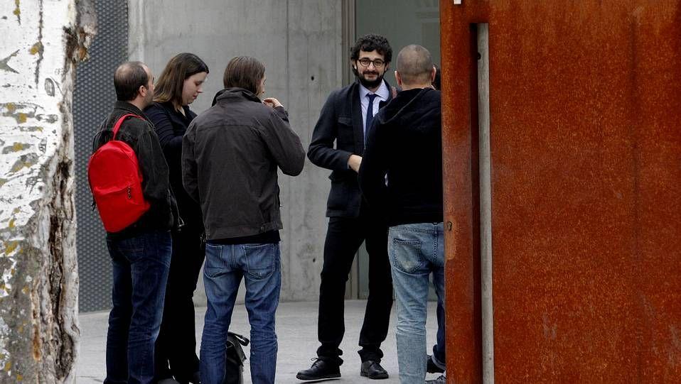 Familiares de las víctimas.Imagen de archivo del juicio contra los miembros de Resistencia Galega en la Audiencia Nacional.
