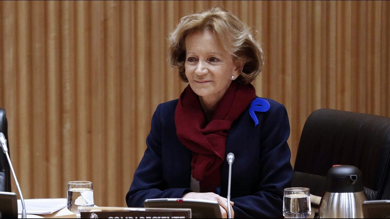 .La exministra de Economia, Elena Salgado