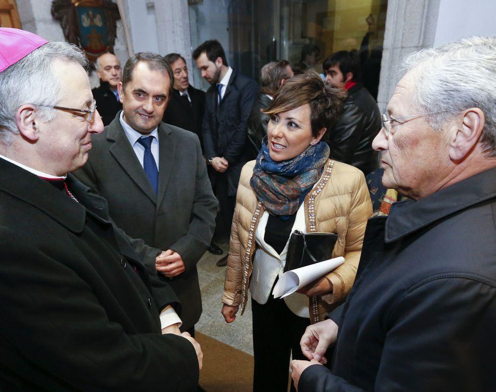 Sonsoles Ónega dio el pregón en el Círculo das Artes.