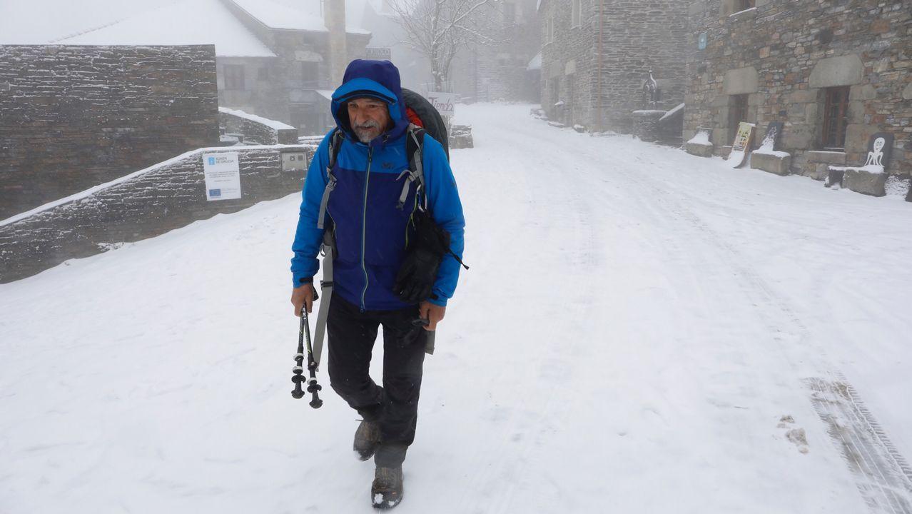 «É moi emocionante ver a neve por primeira vez»