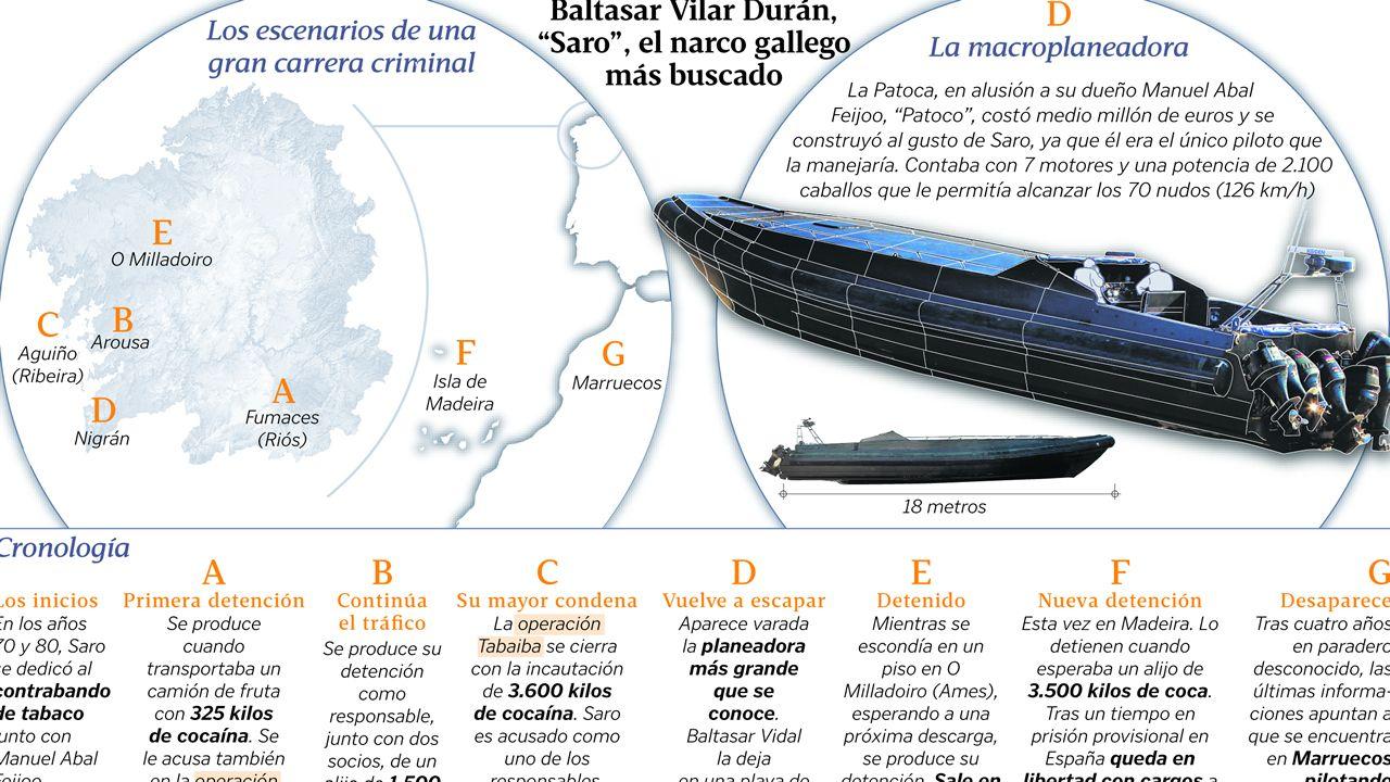 Baltasar Vilar Durán,  Saro , el narco gallego más buscado