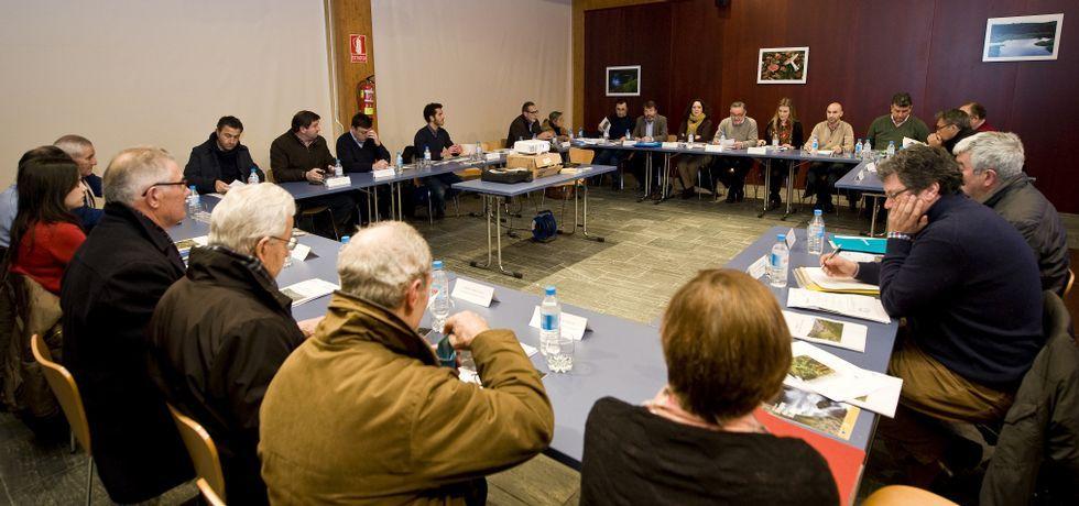 Nueve de los veinticinco participantes de la Xunta Consultiva se negaron a asistir al encuentro con la Xunta en señal de protesta.