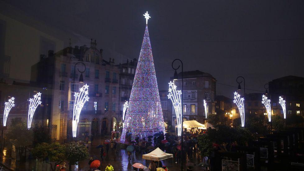Pontevedra enciende la Navidad