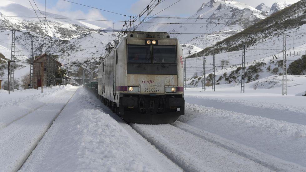 .Un tren en Busdongo