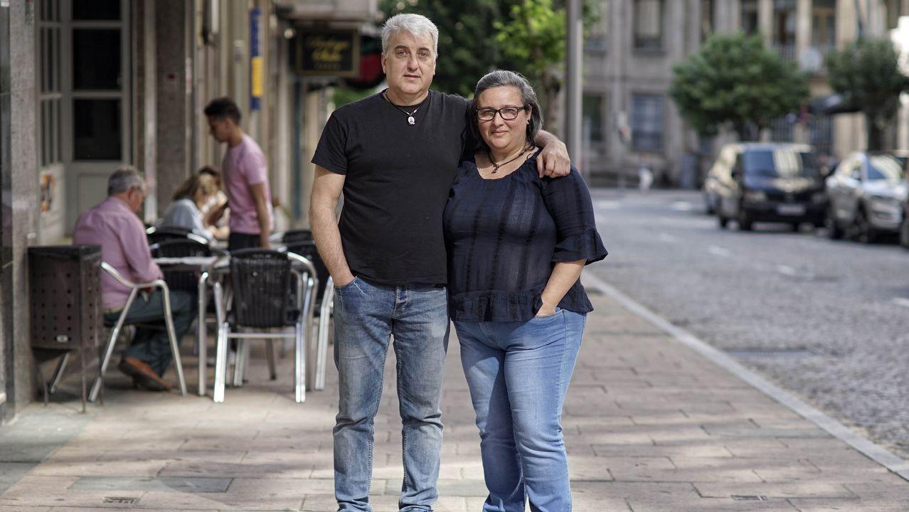 Eugenia y Antonio se afincaron en Ourense tras sufrir numerosas extorsiones en Margarita
