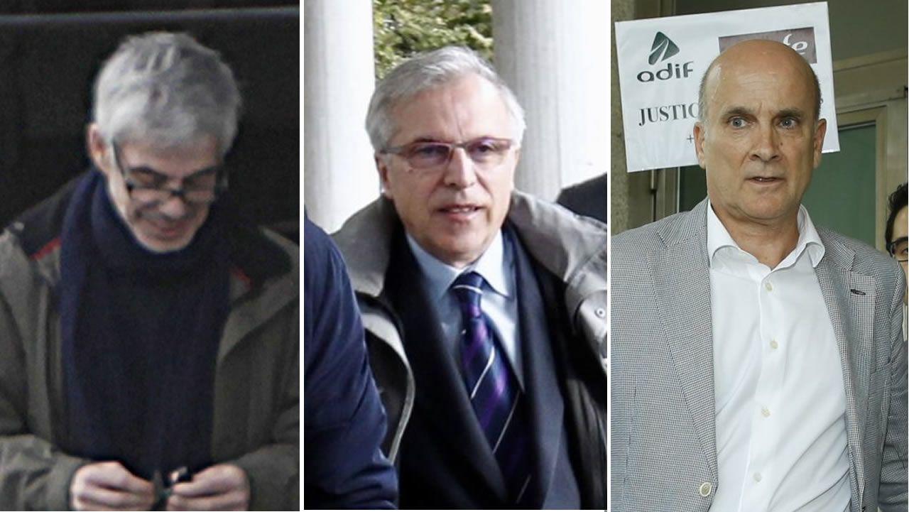 Francisco José Garzón Amo, Antonio Lanchares y Andrés Cortabitarte
