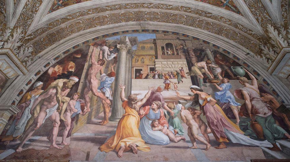 El responsable de finanzas del Vaticano, imputado por abusos sexuales a menores.«El incendio del Borgo»