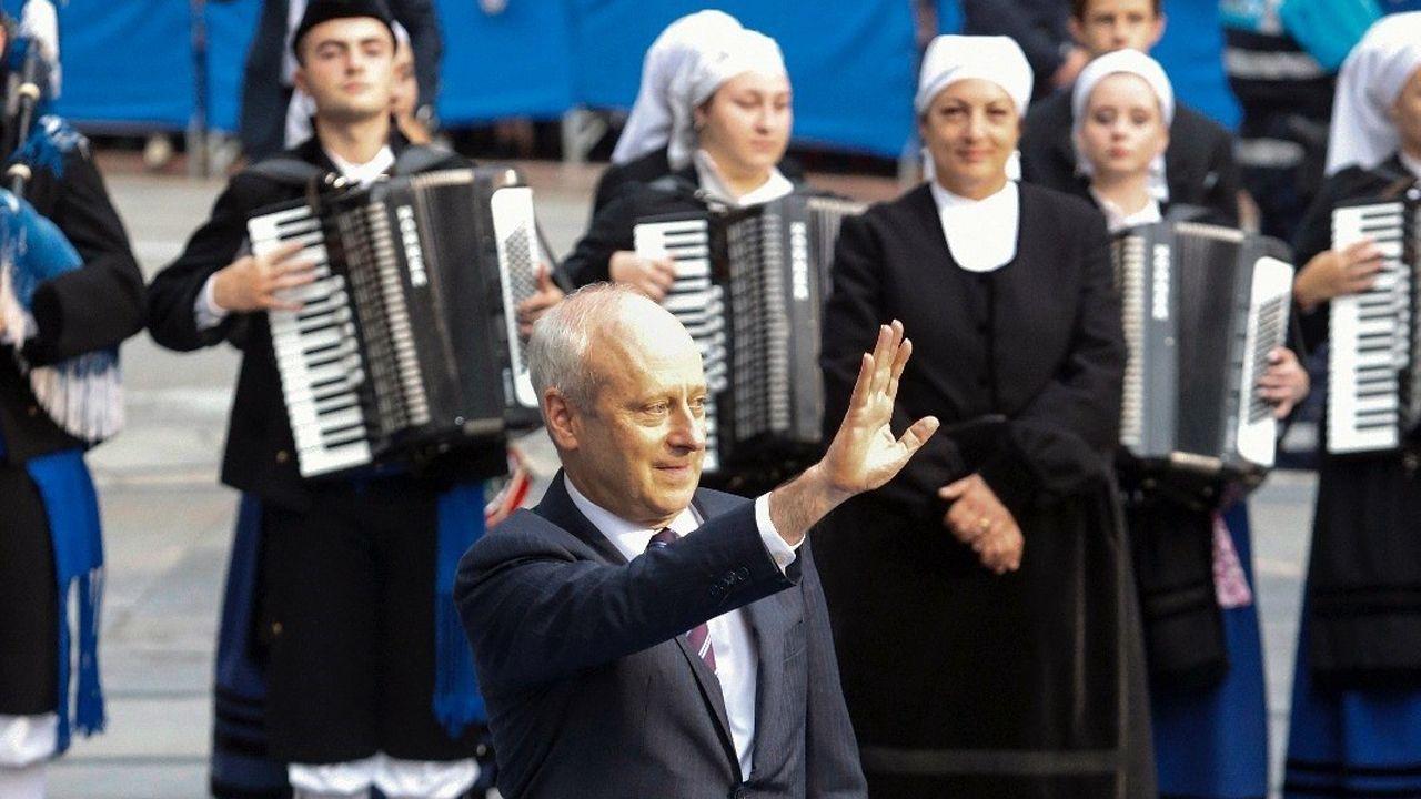 Michael J. Sandel, a su entrada del Campoamor