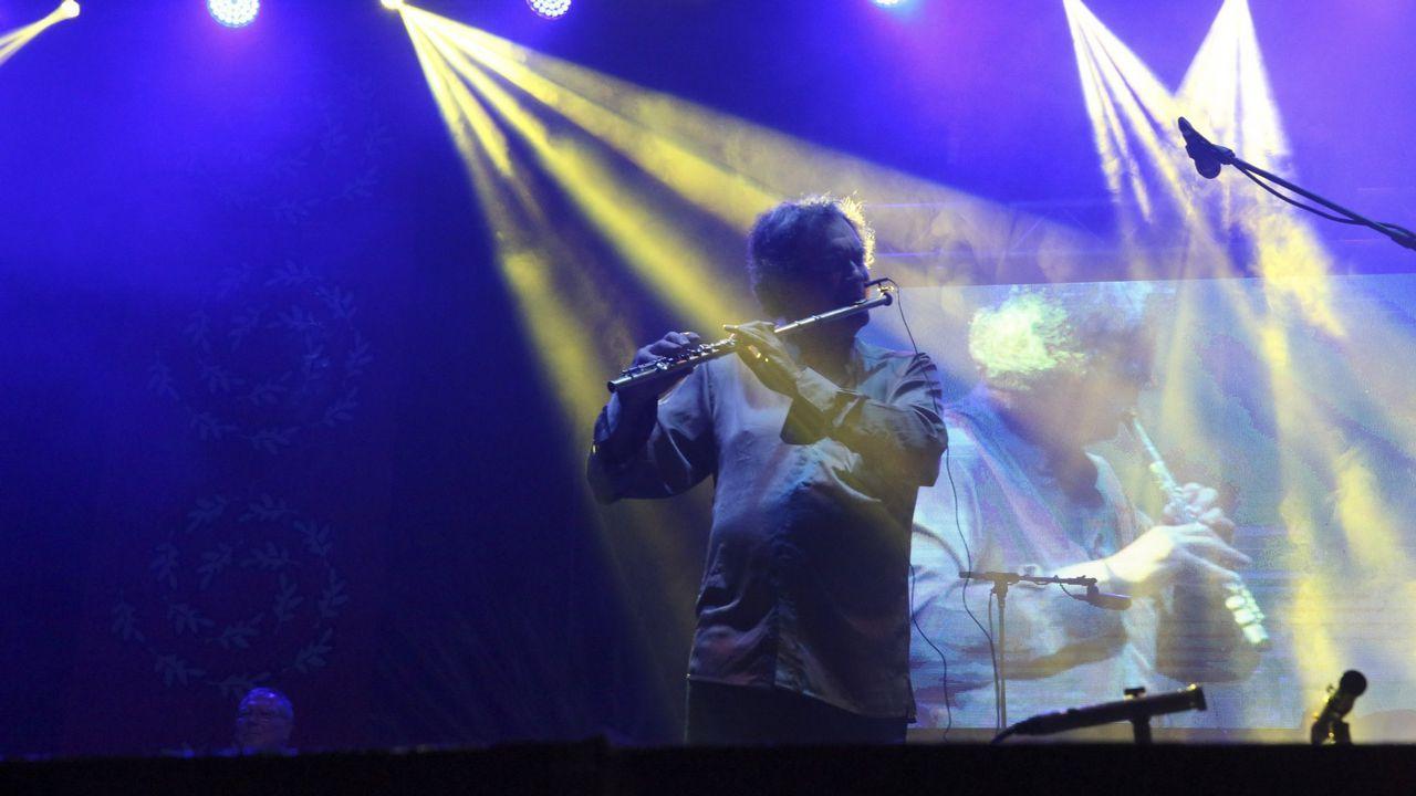 Eddie Vedder en el concierto de Pearl Jam en el festival NOS Alive 2018, en Portugal