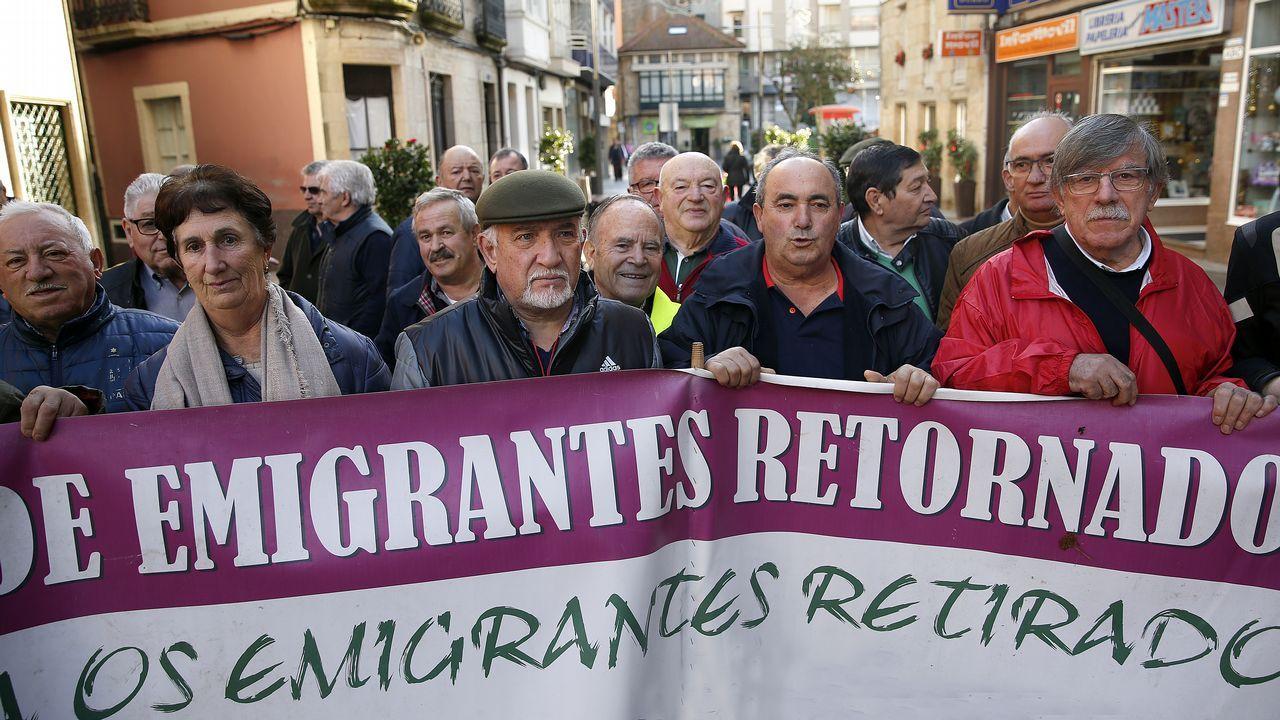 Concentración en Ourense capital.La marcha feminista del pasado 8M fue una de las concentraciones más numerosas