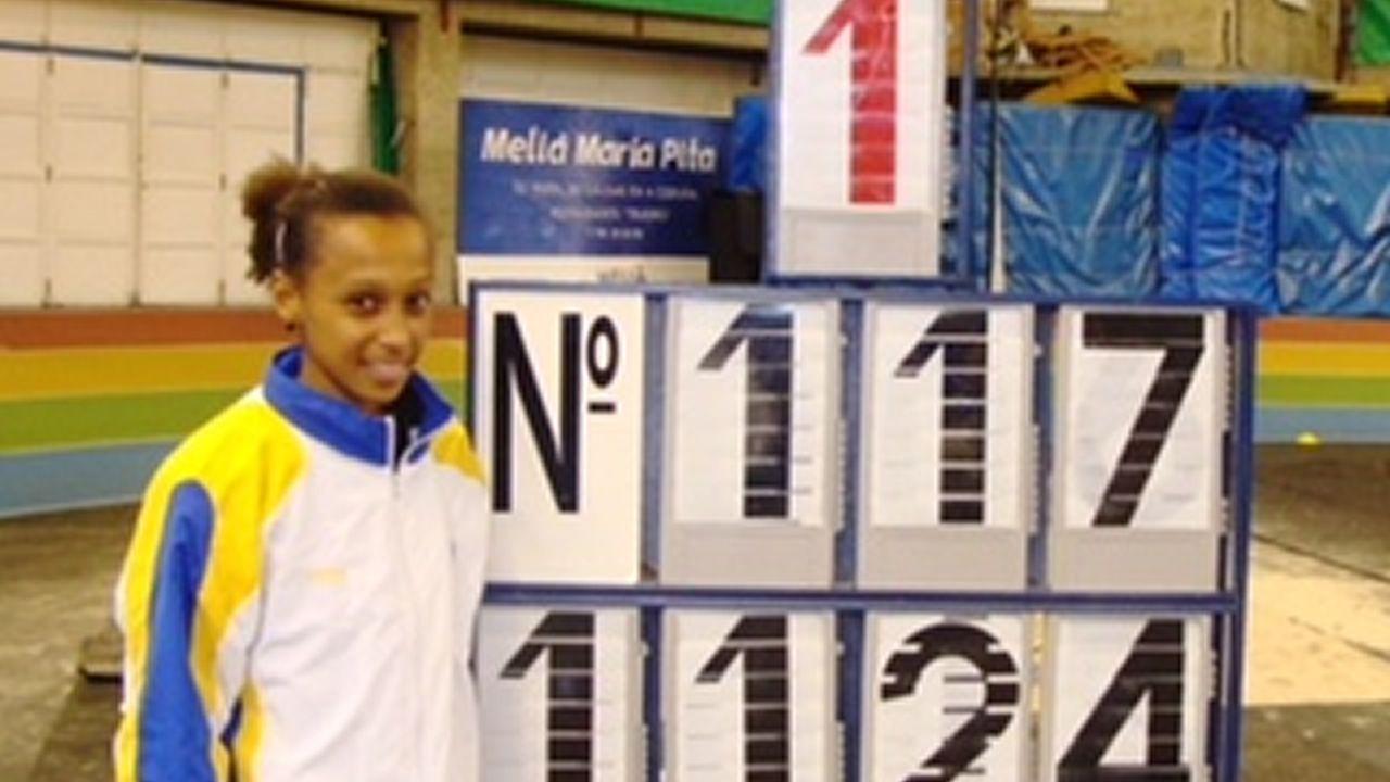 Ana Peleteiro: 3,49 metros de mejora en nueve años