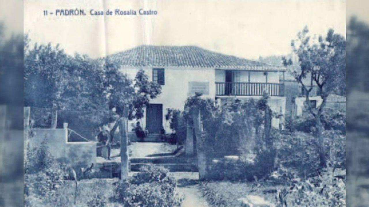 Así se xestou a Casa Museo de Rosalía de Castro en Padrón.