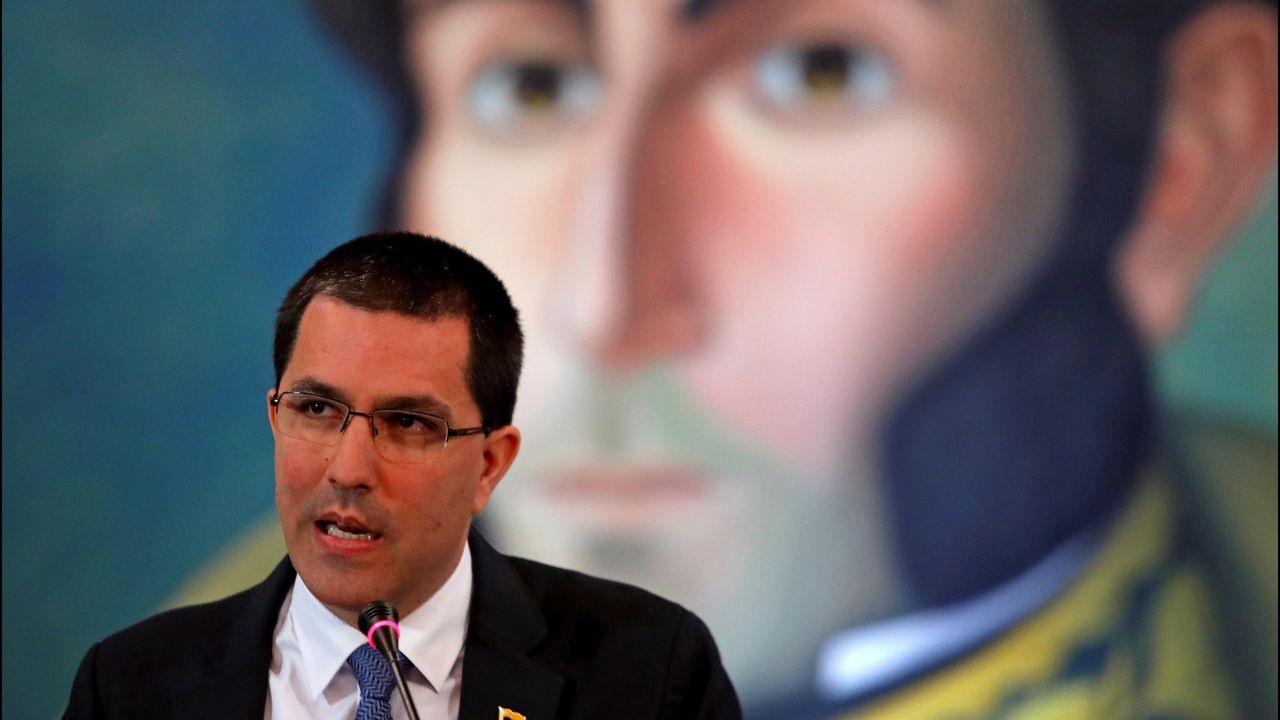 El ministro de Exteriores venezolano, Jorge Arreaza, cree que la reapertura tiene que hacerse con unas reglas del juego claras