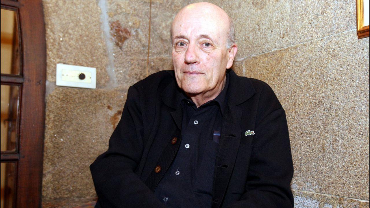 Muguerza, durante su participación en la Semana Galega da Filosofía del año 2008