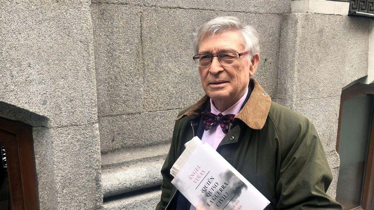 Viñas es especialista en la Segunda República, la Guerra Civil y el franquismo