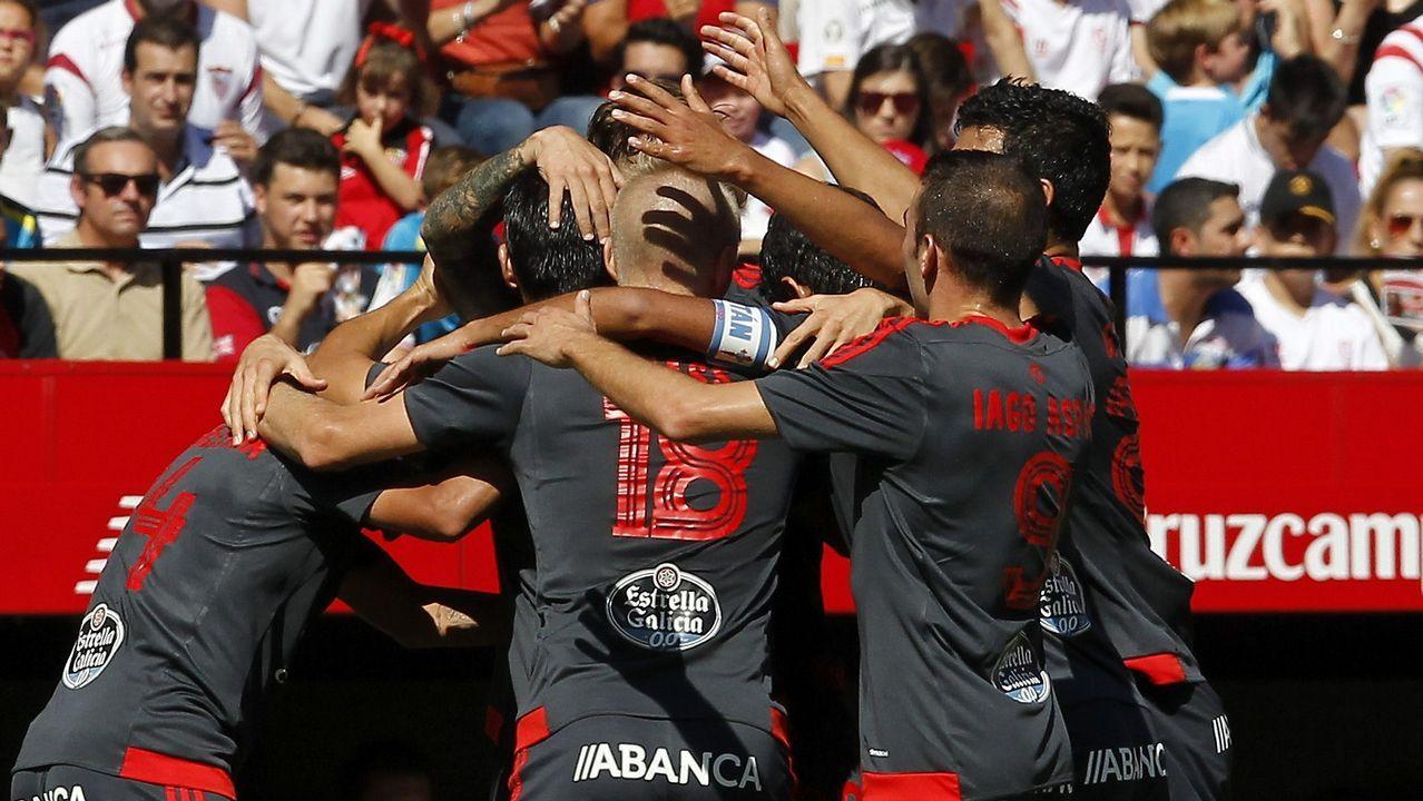 157 - Sevilla-Celta (1-2) el 20 de septiembre del 2015