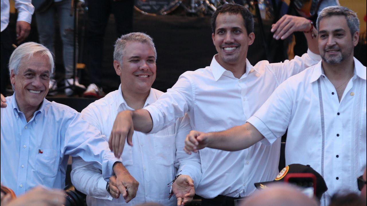 El concierto «Aid Live» reúne a miles de venezolanos en la frontera con Colombia.«Holmes & Watson» ganó el Razzie al peor filme, mientras que Reilly (izquierda), el de peor actor secundario
