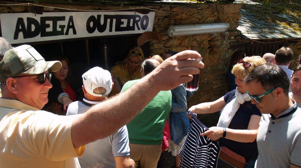 Las imágenes de la Feira do Viño de Vilachá.