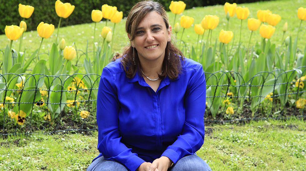 Presupuesto participativos de Oviedo.Ana Rivas, concejala del Ayuntamiento de Oviedo