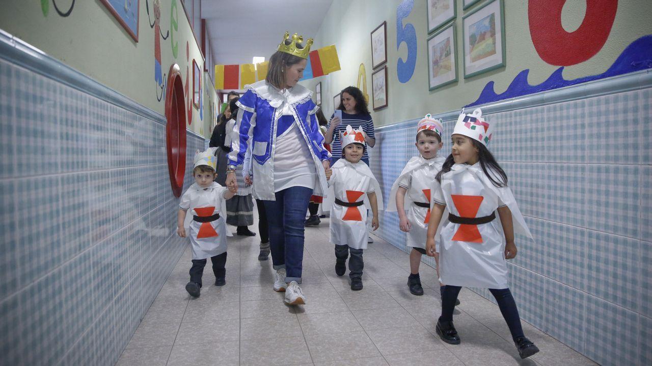 Feria medieval en el colegio Junior's