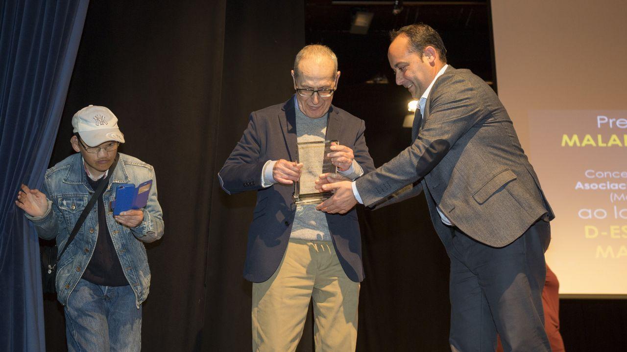 As imaxes da entrega de premios do terceiro certame Contos de Primavera