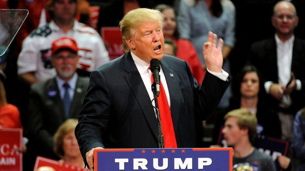 Trump en el 2005: «Cuando eres una estrella, ellas te dejan hacer lo que quieras».Donald Trump