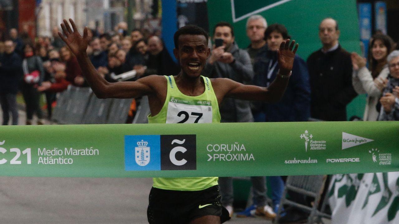 Las mejores fotos de la media maratón Coruña21