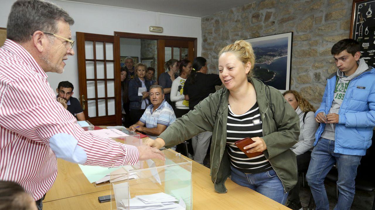 Elecciones cofradía de Carril