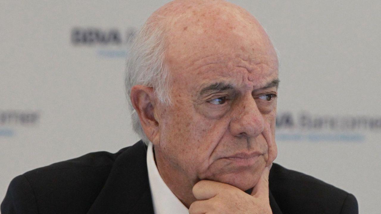 .Francisco González, presidente del grupo BBVA