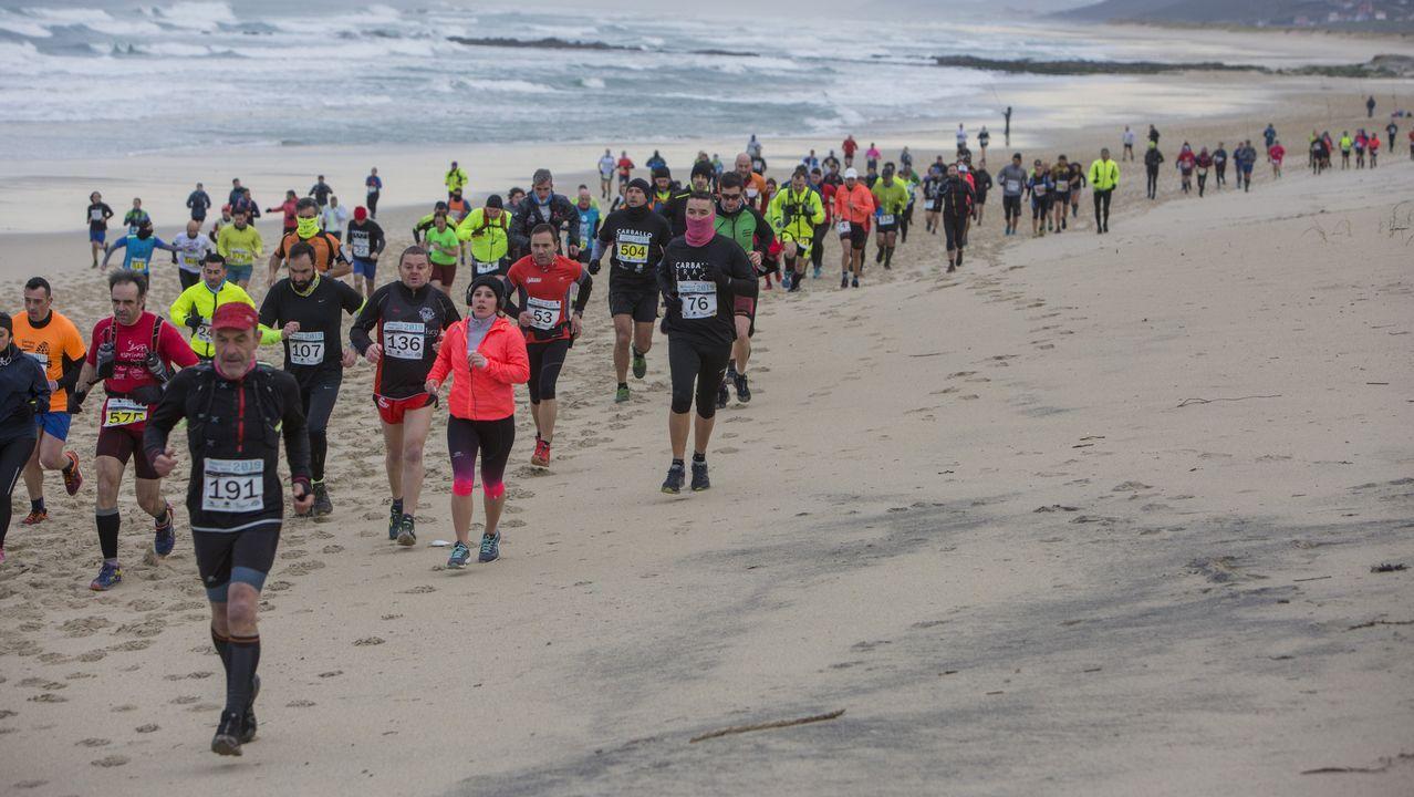 ¡Mira las imágenes que dejó el Carballo Trail Race!