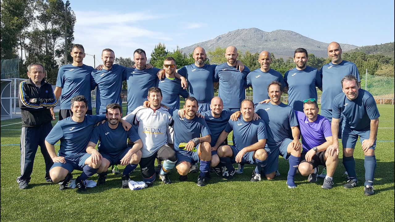 El Club do Mar, campeón de la Copa da Costa de veteranos